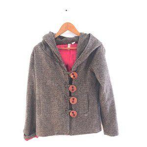 Element women's tweed hooded jacket Medium